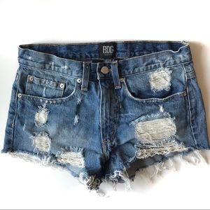 Urban Outfitters BDG Distressed Denim Shorts